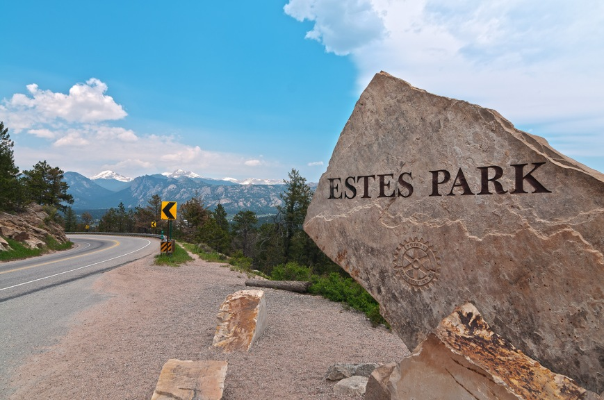 Gateway to Estes Park.