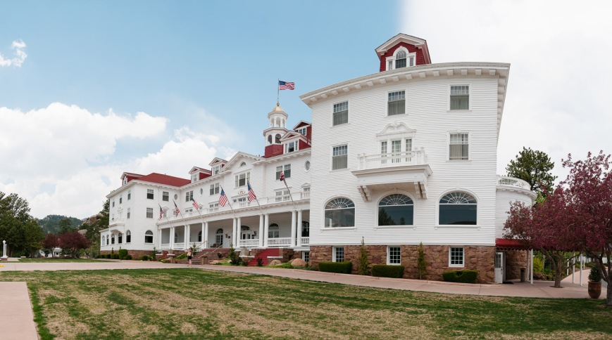 Stanley Hotel in Estes Park (Shining, anyone?)