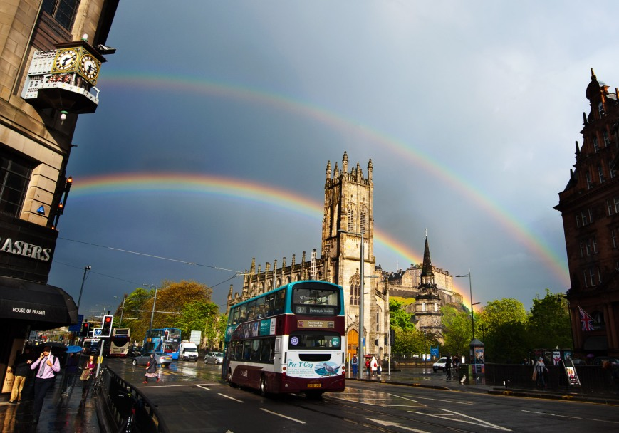 Edinburgh Double Rainbow