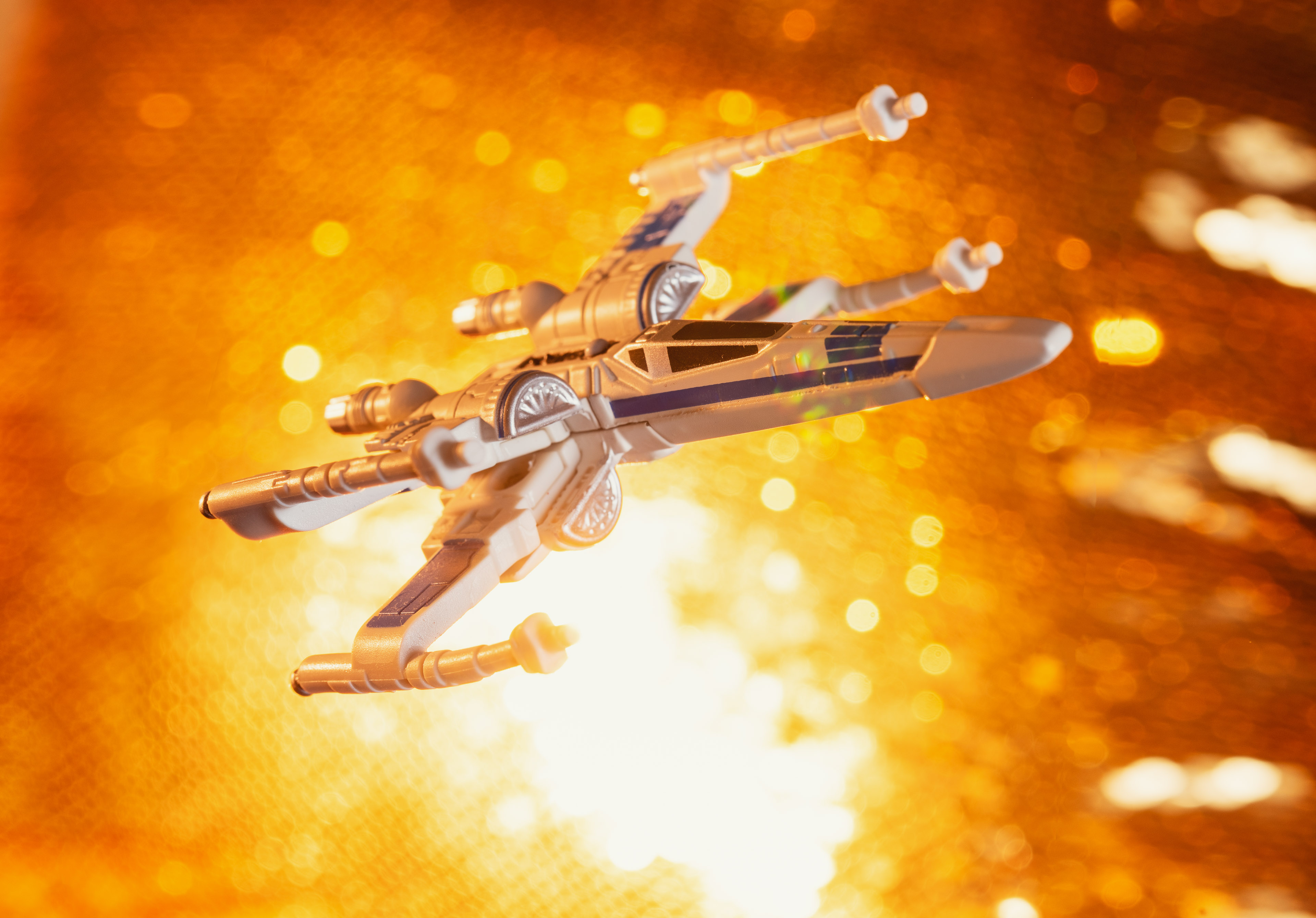Golden X-Wing