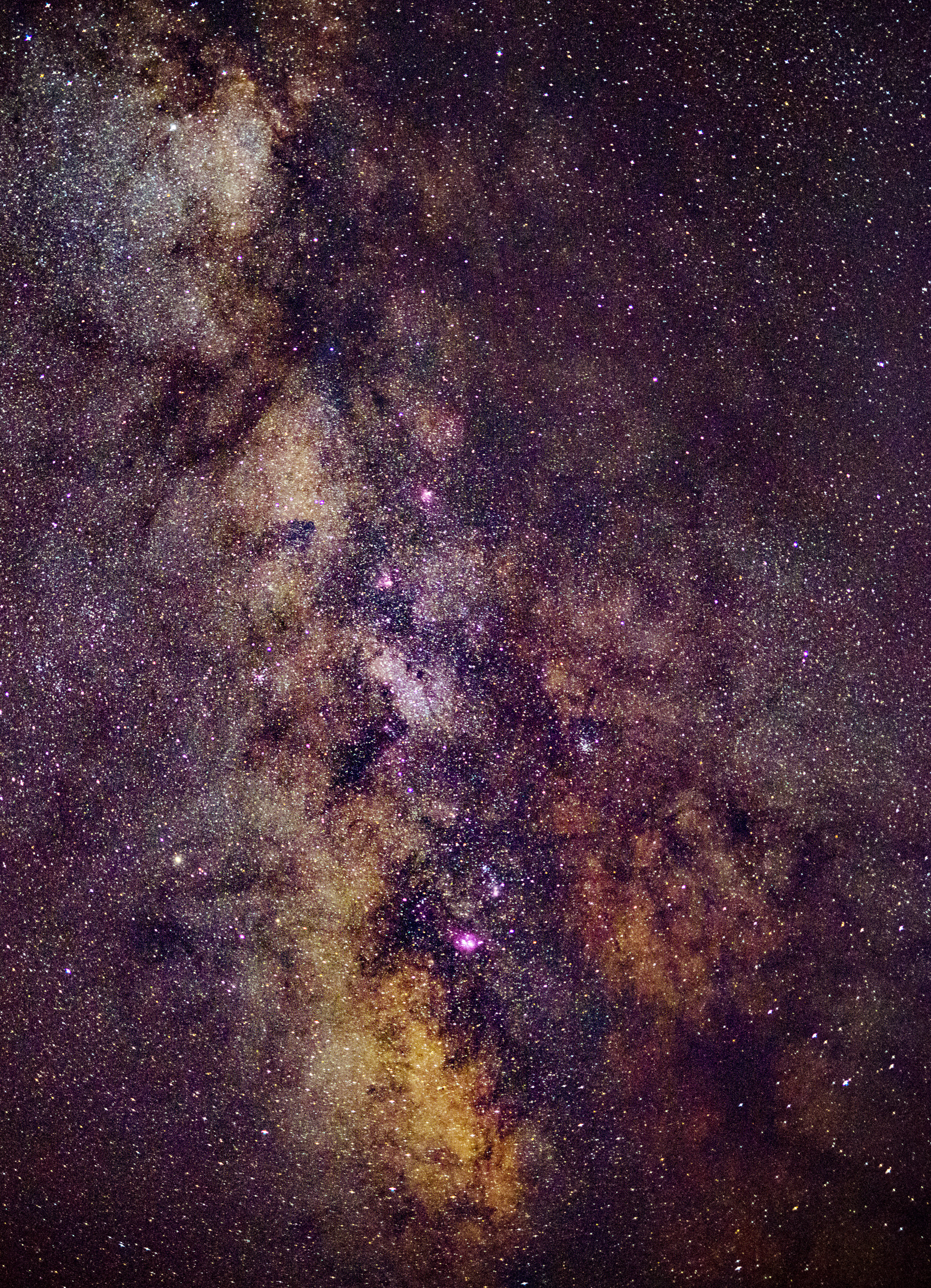 Milky Way with Sigma 50mm Art